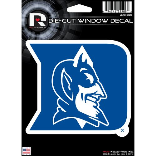 Tag Express Duke University Die-Cut Decal