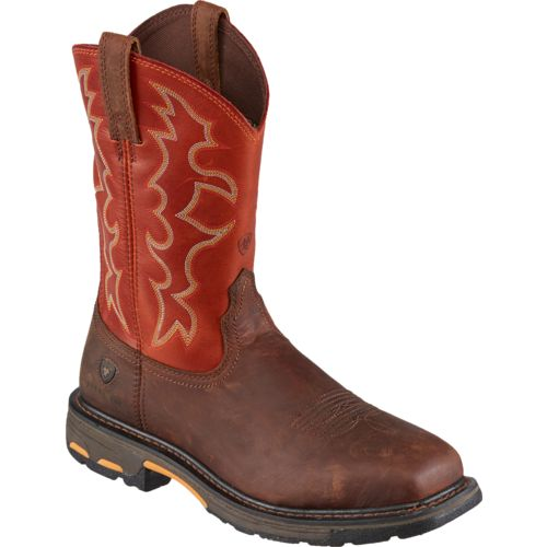 Ariat Men's WorkHog Steel Toe Work Boots | Academy