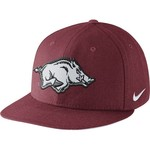 Nike Men's University of Arkansas Players True Snapback Cap