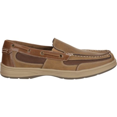Magellan Outdoors Men's Luke Slip-On Boat Shoes | Academy