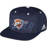 adidas™ Adults' Oklahoma City Thunder Authentic Draft Strapback Cap