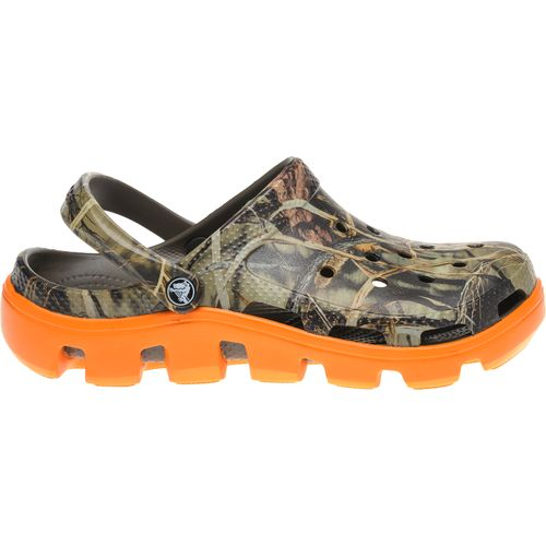 Crocs  Men s Duet Sport Realtree Max-4  Clogs