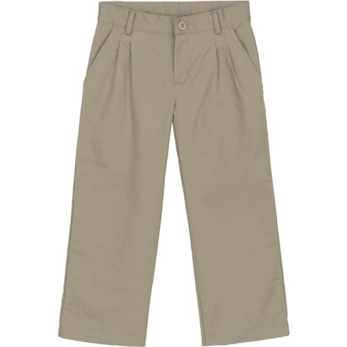 Austin Trading Co. Boys' Pleat Front Twill Uniform Pant