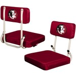 Logo Chair Florida State University Hard Back Stadium Seat