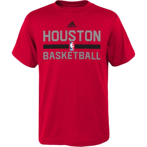 adidas™ Boys' Houston Rockets Practice Wear T-shirt