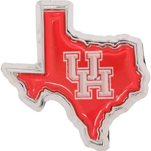 Stockdale University of Houston Chrome Metal Auto Emblem