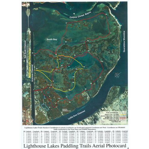 Shoreline Publishing Lighthouse Lakes Paddling Trails Brown &