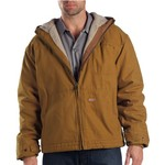 Dickies Men's Duck Sherpa-Lined Hooded Jacket