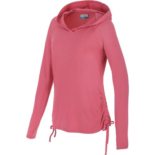Magellan outdoors women 39 s high tide long sleeve hoodie for Magellan women s fishing shirts