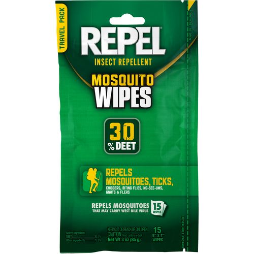 Display product reviews for Repel Sportsman Formula Insect Repellent Wipes 15-Pack
