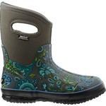 Bogs Women's Classic Winter Blooms Mid Insulated Rubber Boots