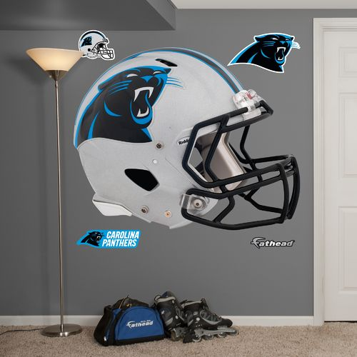 Fathead Carolina Panthers Helmet and Team Decals 5-Pack