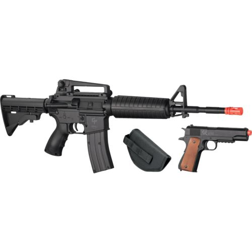 Display product reviews for Game Face™ Defender Strike 6mm Caliber Air Rifle and Air Pistol Kit
