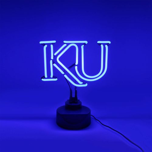 Superb AES Optics University Of Kansas Tabletop Neon Light   View Number 1