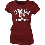 Blue 84 Juniors' Texas A&M University Triblend T-shirt - view number 1
