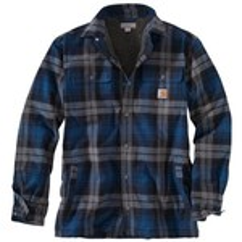 Carhartt Men's Hubbard Sherpa Lined Shirt Jac
