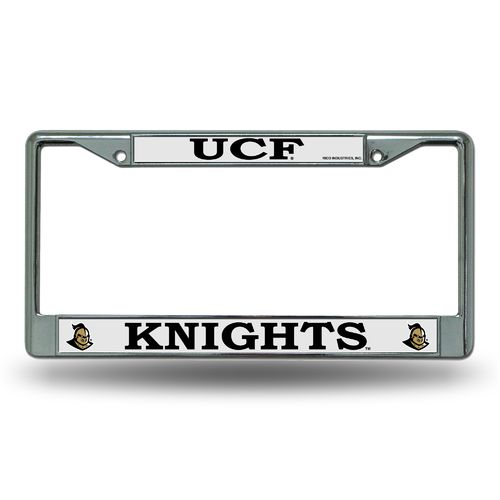 Rico University of Central Florida Chrome License Plate Frame