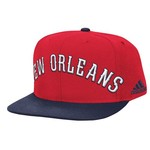 adidas Men's New Orleans Pelicans Authentic On-Court Snapback Ball Cap