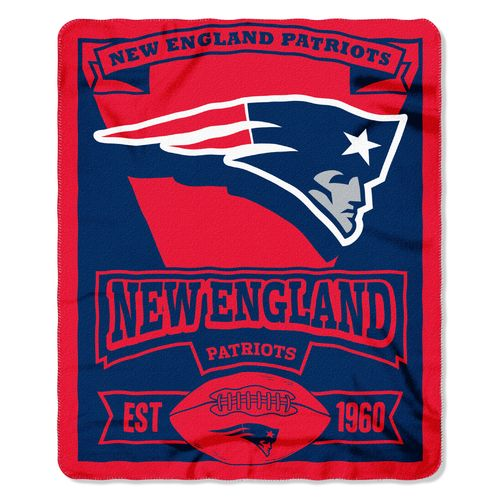 The Northwest Company New England Patriots Marquee Fleece Throw
