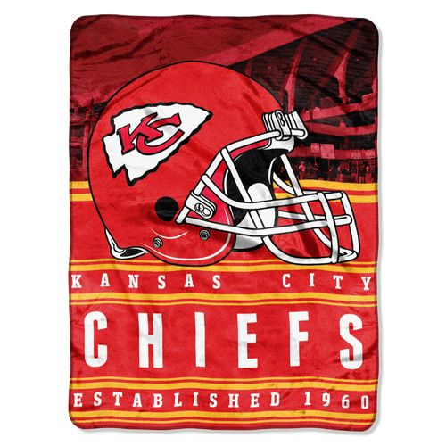 The Northwest Company Kansas City Chiefs Stacked Silk Touch Throw
