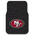 The Northwest Company San Francisco 49ers Front Car Floor Mats 2-Pack - view number 1