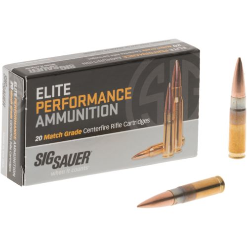 SIG SAUER Elite Match Grade OTM .300 BLK 220-Grain Rifle Ammunition