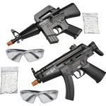 Black Ops® Dual-Power 6mm Caliber Mini Airsoft Machine Guns 2-Pack