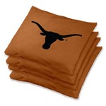 Wild Sports University of Texas Regulation Bean Bags 4-Pack