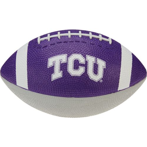 Rawlings® Texas Christian University Hail Mary Youth-Size Rubber Football - view number 1