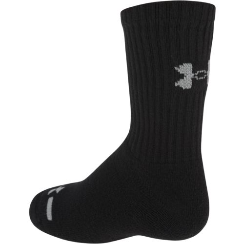 Under Armour Boys' Charged Cotton Crew Socks - view number 2