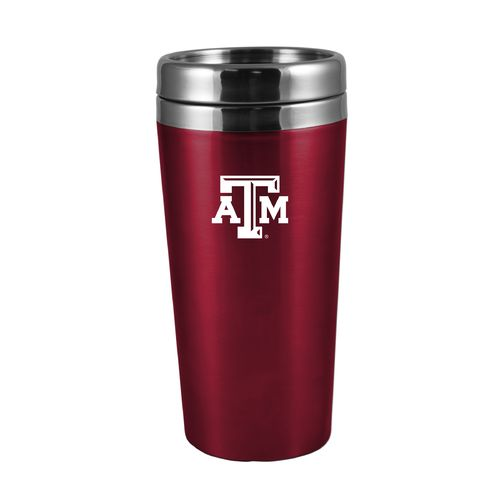 The Fanatic Group Texas A&M University 16 oz. Rubberized Stainless-Steel Tumbler