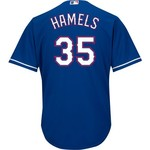 Majestic Men's Texas Rangers Cole Hamels #35 Jersey - view number 1