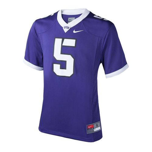 Nike™ Boys' Texas Christian University #5 Replica Football Jersey
