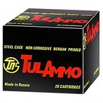 TulAmmo 7.62 x 54mmR 148-Grain Full Metal Jacket Centerfire Rifle Ammunition - view number 1