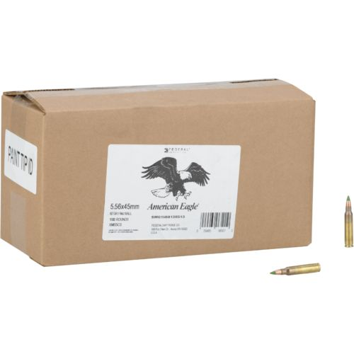 American Eagle® Training 5.56 x 45mm 62-Grain Rifle Ammunition