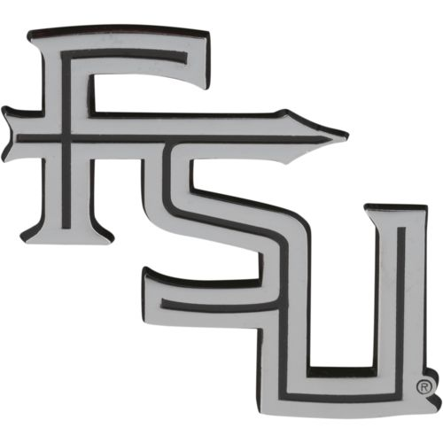 Stockdale Florida State University Chrome Freeform Auto Emblem