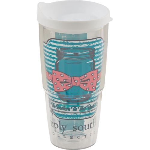 Tervis Simply Southern® Mason Jar 24 oz. Wrap Tumbler with Lid