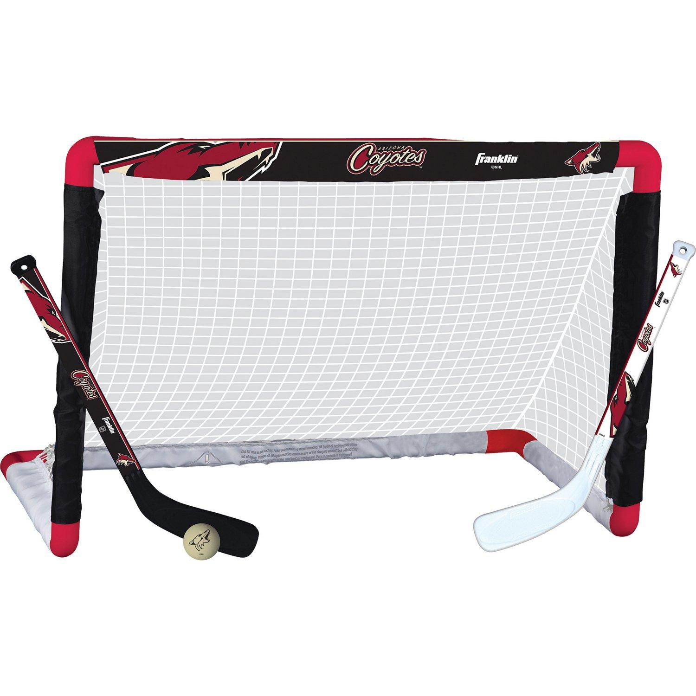 Franklin Arizona Coyotes Mini Hockey Goal Set