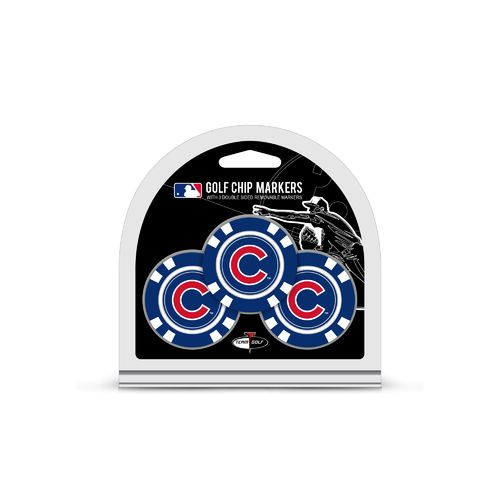 Team Golf Chicago Cubs Poker Chip and Golf Ball Marker Set - view number 1
