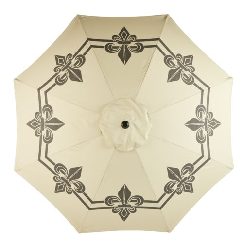 Display product reviews for Mosaic 9' Round Steel Market Umbrella