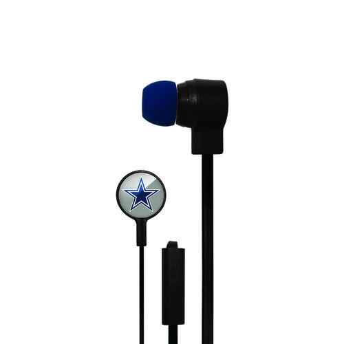 Mizco Dallas Cowboys Big Logo Earbuds