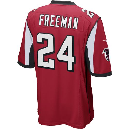 Nike Men's Atlanta Falcons Devonta Freeman #24 Game Team Home Replica Jersey