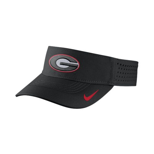 Nike™ Men's University of Georgia Vapor Adjustable Visor