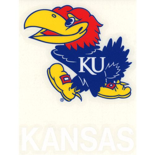 "Stockdale University of Kansas 4"" x 7"" Decals 2-Pack"