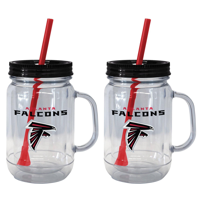 Boelter Brands Atlanta Falcons 20 oz. Handled Straw
