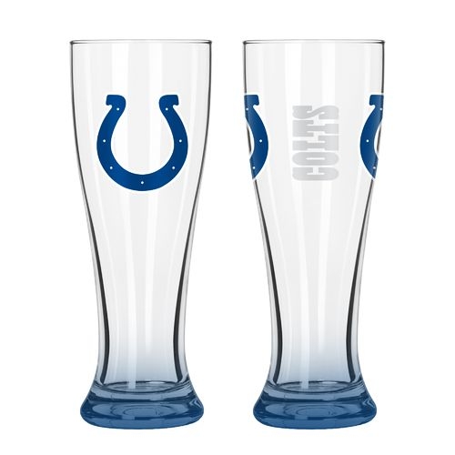 Boelter Brands Indianapolis Colts Elite 16 oz. Pilsners 2-Pack