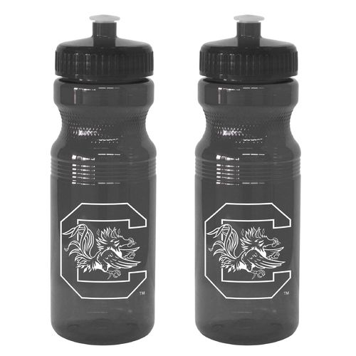 Boelter Brands University of South Carolina 24 oz. Squeeze Water Bottles 2-Pack