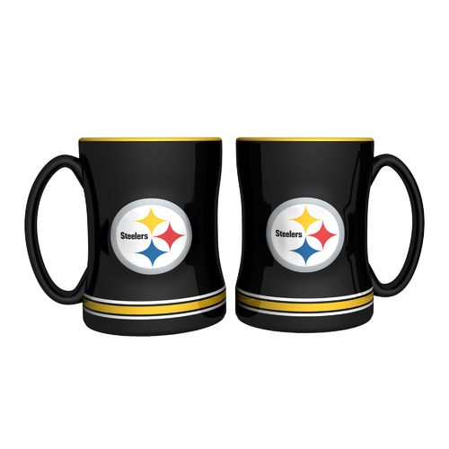 Boelter Brands Pittsburgh Steelers 14 oz. Relief Mugs 2-Pack