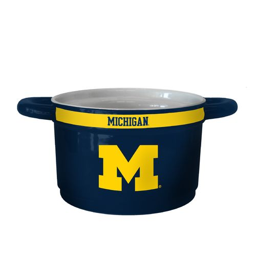 Boelter Brands University of Michigan Gametime 23 oz. Ceramic Bowl