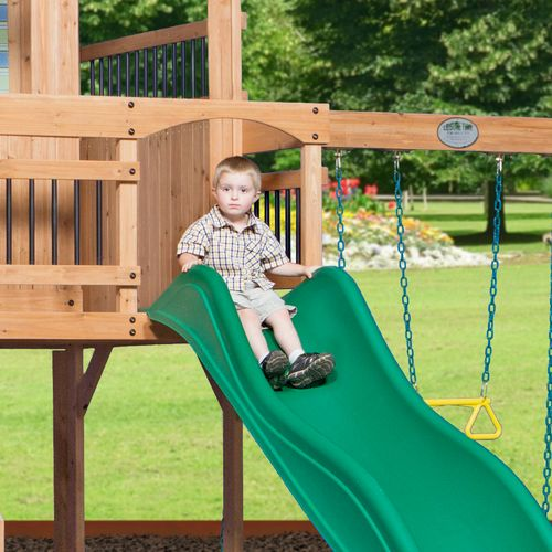 Backyard Discovery™ Oceanview Wooden Swing Set - view number 6